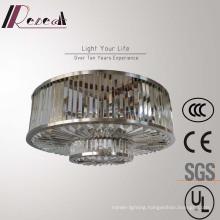 Modern Contemporary Hotel Lobby Round Crystal Pendant Lamp