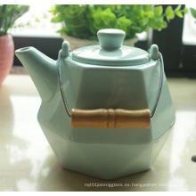 600ml Calssical cerámica tetera de primera calidad