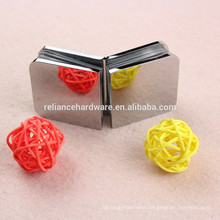2015 hot sale square shape brass material shower glass clamp
