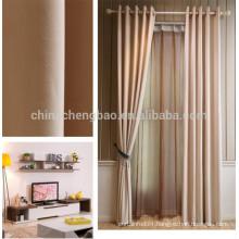 Home decorative fancy window curtain linen panel curtain