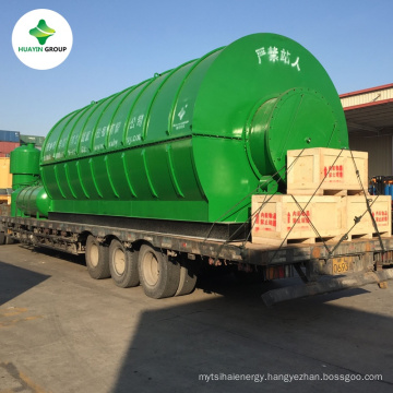 Huayin Pyrolysis Plant Manufacturing Waste Tyres to Furnace Oil