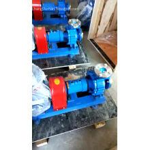 Wärmepumpe mit horizontaler Endabsaugung und Zentrifugalölpumpe
