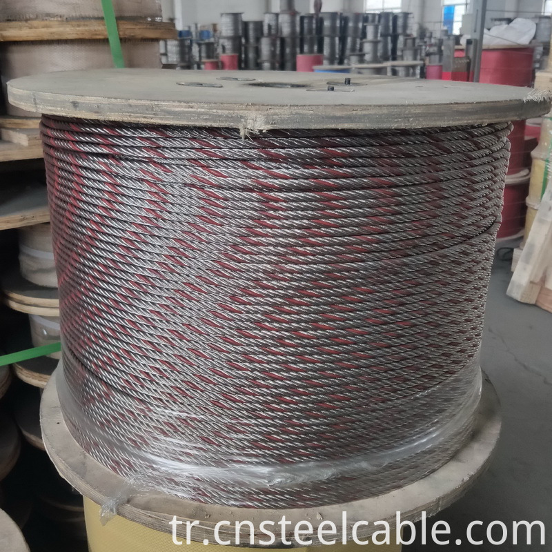 Stainless Steel Wire Rope With Color