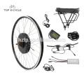 Atacado 26 '' parte dianteira e traseira da roda kit de conversão de bicicleta elétrica 36 V 350 W Ebike kit