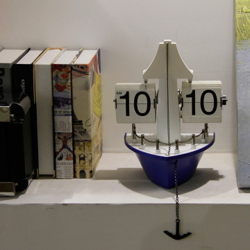 Ship Flip Clock für Table Decor