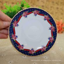 Venta caliente placa de compartimiento de melamina de porcelana