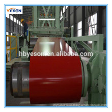 Prepainted GI steel coil / PPGI / PPGL/ color coated galvanized steel sheet in coil