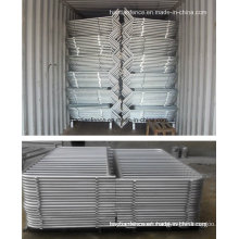 Hot Dipped Galvanized Pedestrian Barricade Panel