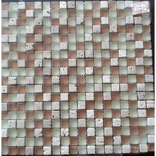Mosaic Tile Stone Mix Crystal Glass Mosaic (HGM359)