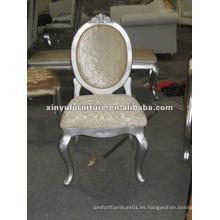 2015 nuevo diseño silla de brazo blanco louis XYD069