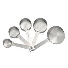 5 tasses à mesurer de cuisson en acier inoxydable