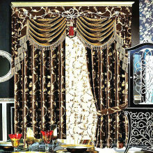 Neue Muster Fenster Vorhang aus Flannelette