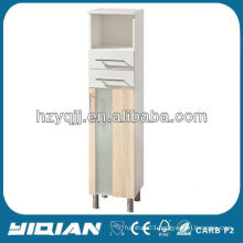 Hot Sale Furniture Free Standing Home Living MDF Painting or PVC Foil Film Luxury Tall Cheap Storage Furniture