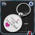7-15 Tage Vorlaufzeit freie Formgebühr kundenspezifisches Metall keychain / TCCC Audit kundenspezifisches Metall Keychain