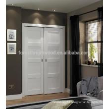 4 panel white shaker style internal doors, wardrobe door