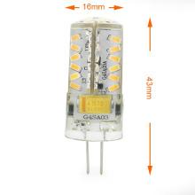 Mini G4 3W LED Maïs Lumière 57X 3014 SMD LED Ampoule Ampoule AC / DC 12V en Blanc Chaud / Blanc Froid Lampe À Économie D'énergie