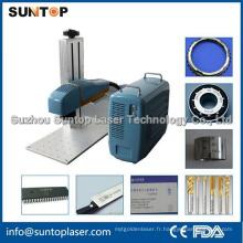 Machine d'impression laser couleur 20W Mopa / Machine d'impression laser pour alliage