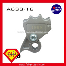 A633-16 Industrial Fall Protection Aluminum With Eye 16mm Synthetic Rope Grab