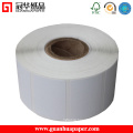 High Whiteness Self Adhesive Coated Paper Label Sticker Roll