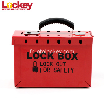 Steel Group Safety Lockout Box