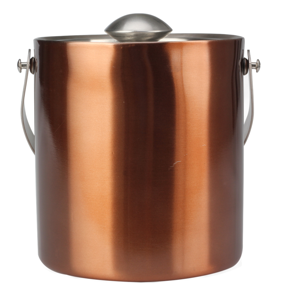 Copper Painting Ice Bucket