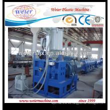 Máquina de la pipa de línea de producción de plástico de la pipa de agua HDPE