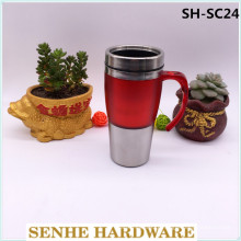 Mug de café promotionnel à double paroi de 450 ml (SH-SC24)