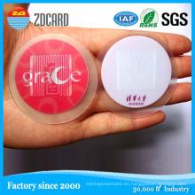 RFID tamaño personalizado Ntag203 etiqueta NFC