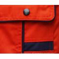 Orange aus Polyester-Twill einheitliche Baumwollstoff