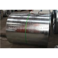 Bobina de aço galvanizado GI Folha de bobina para coberturas