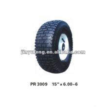 rubber wheel 15x6.00-6