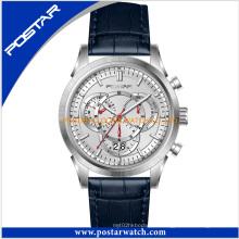 Reloj de coronografía de fábrica para hombres con alta calidad