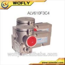 Válvula de solenóide de duas vias de três vias de aço inoxidável para água
