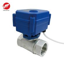 Válvula de control hidráulica de flujo de aire automático de acero inoxidable para tractor
