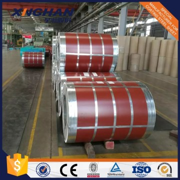 Vorlackierte Galvalume Farbe Coated Steel Coil Red Farbe