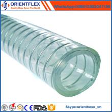 Tubo de mangueira de vácuo reforçado de aço do PVC do certificado do ISO