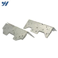 Suporte de metal feito sob encomenda da conexão perfurada inoxidável de aço