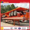 40ft Container Transport Plattform Semi Truck Tieflader