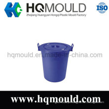 Molde de injeção plástica balde com alça
