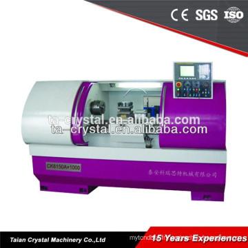 Métal lourd avec l'outillage direct CK6150A cnc tour machine prix