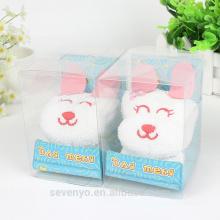 100% coton mignon lapin cadeau de haute qualité serviettes