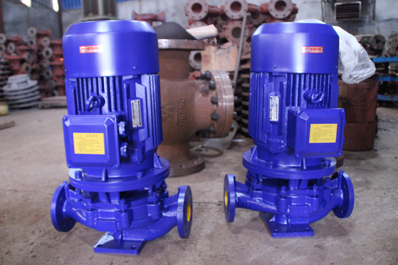 SG type pipeline booster pump 3