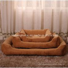 Cama de cachorro de alta qualidade aquecida inverno Cama de cachorro barata de estimação