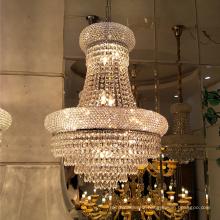 Traditionnel Antique Or Cristal Éclairage Lustre Pendentif Tente De Mariage Déco Lumières 71022