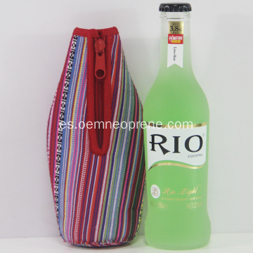 Enfriador de botella de brillo sublimada