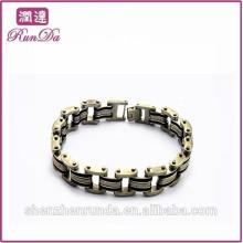 Alibaba barato moda moda pulseiras de aço inoxidável 2015