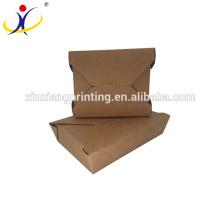 Biodegradable paper food box,paper meal box,food corrugated paper box