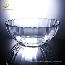 Glass Mixing Bowl,round glass bowl,decorative glass bowl