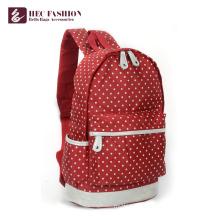 HEC Customized Logo Travelling Multicolor Children School Backpack