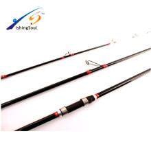 SFR083 Atacado pesca pesca vara de pesca carbono puro vara de fundição